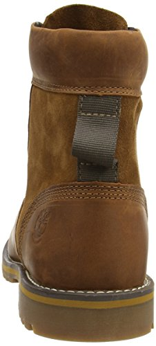 Timberland Larchmont 6 Inch Waterproof, Bottes Homme Marron (Medium Brown)