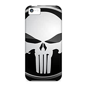 Fashionable Design Punisher Rugged Cases Covers For Iphone 5c New