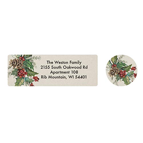 - Personalized Looking for Jesus Address Labels & Seals - Includes a Set of 20 Self-Stick Sheeted Labels and Matching Seals - Labels Sized at 2 ½ in. long x 1 in. wide