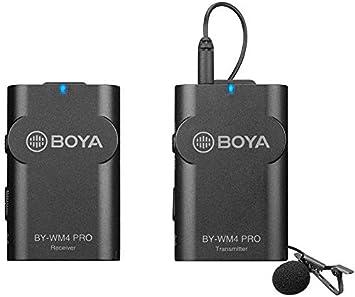 Boya By Wm4 Pro K1 2 4g Wireless Microphone System With Kamera