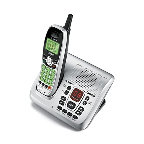 (Uniden EXAI8580 5.8 GHz Digital Cordless Phone with Digital Answering)
