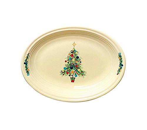 Fiesta Tree Lights Oval Platter