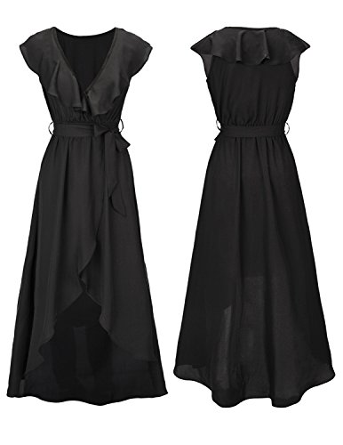 Cocktailkleid schwarz bunt