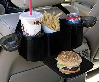 Style Auto Back Seat Organizer with Tray