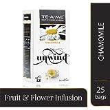 TE-A-ME Chamomile Infusion Tea Pack (Chamomile 25 tea bags)