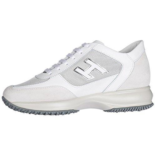Zapatillas Mujer Piel Blanco Deporte Zapatos Hogan en de 5BWIFcwq