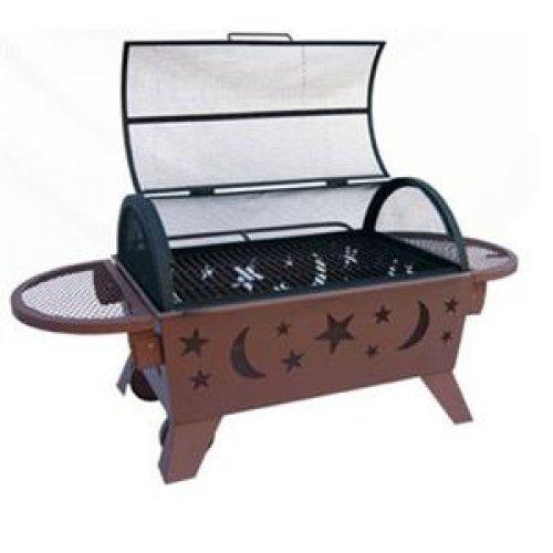 Landmann 28740 Northern Lights XT Stars & Moon Wood Fireplace / 28740 /