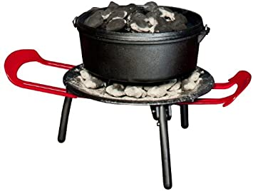 Outback Station Portable Outdoor Grill, Outdoor Grill and Dutch Oven Stand – Dutch Oven not Included