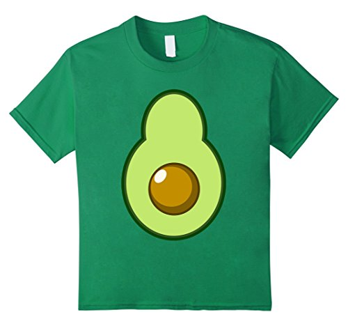 Super Funny Halloween Costume Ideas - Kids Avocado Costume Halloween Funny Idea DIY T-Shirt 6 Kelly Green