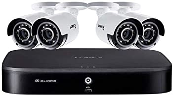 Lorex 4K UHD 8-Channel DVR Security System With Night Vision