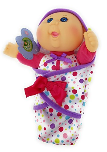 Image of the RARE LIMITED EDITION 2016 Cabbage Patch Kids Lil' Swaddlers Style #3