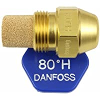 Danfoss Oil Fired Boiler Burner Nozzle 0.40 x 80 H USgal/h ° Degree Spray Pattern 0.4 Heating Jet 1.46 Kg/h by Danfoss