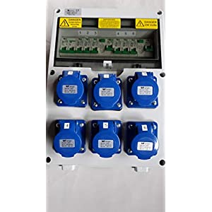 Caravan,Camping,Marine Hook Up,RCD Industrial Socket.Consumer,distribution board