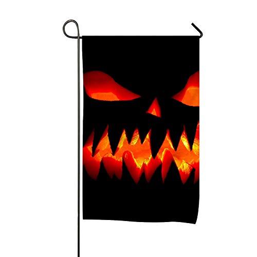 QIFEN Happy Halloween Clip Art Welcome Garden Flag Vertical Outdoor and -