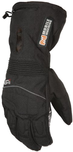 Mobile Warming 7611-0105-06 TX Gloves, Gender: Mens/Unisex, Primary Color: Black, Size: Lg, Distinct Name: Black
