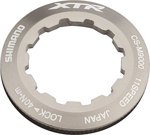 (Shimano XTR M9000 11-Speed Cassette Lockring for 11t Cog)