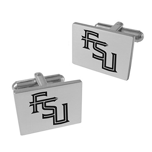 College Jewelry Florida State Seminoles Stainless Steel Original Style Cufflinks ()