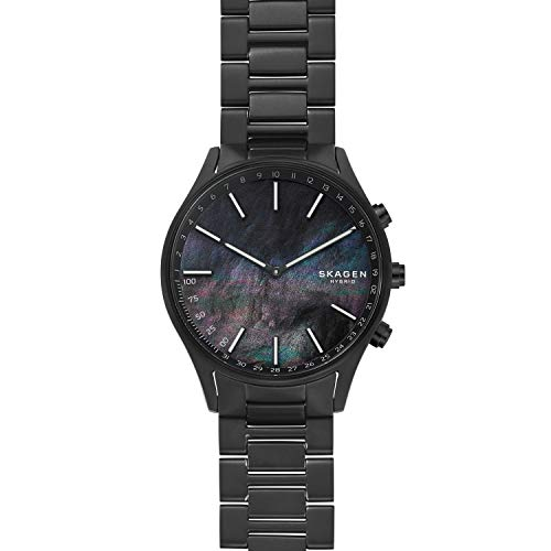 Skagen Connected Men Holst Titanium Hybrid Smartwatch, Color: Black (Model: SKT1312)