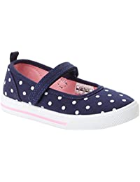 Kids' Casual Mary Jane (Slip-on Shoe with a Velcro Strap) Flat