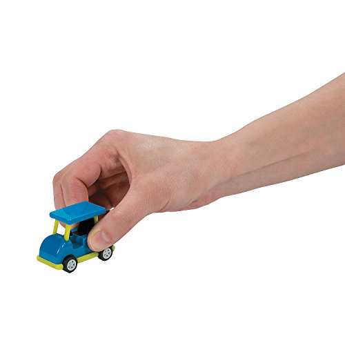 Fun Express - Golf Cart Pullbacks for Birthday - Toys - Vehicles - Cars & Boats & Racers - Birthday - 12 Pieces]()