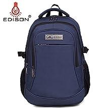 Edison AmazonBasics Backpack for Laptops Up To 17-Inch travel backpack (navy blue)