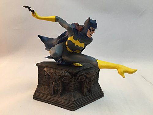 DC Direct Batgirl Cold-Cast Porcelain Hand Painted Miniature Statue