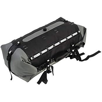 Amazon.com: SW-Motech Drybag 350 Tail Bag (Grey/Black