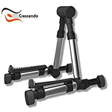 Universal Instrument Stand, Ultimate Portable Adjustable Folding Lightweight A-Frame Professional Travel Stands, Acoustic Guitar, Classical, Electric, Violin, Mandolin, Ukulele, Home Studio & On Stage