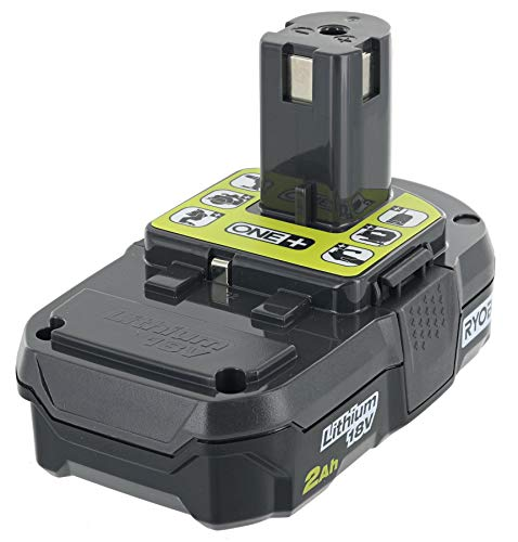 Ryobi P190 2.0 Amp Hour Compact 18V Lithium Ion Battery w/ Cold Weather Performance and (Charger Not Included / Battery Only)