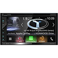 Double DIN Navigation In-Dash DVD/CD/AM/FM Car Stereo w/ 6.8 Touch Screen with Built-in HD Radio and Bluetooth