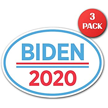 bumper sticker biden bumper joe sticker I Make Decals /® 2020 3x5 oval