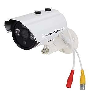 Cámara de 3,6 mm de la lente 700TVL IR 3 LEDs infrarrojos CMOS CCD de seguridad CCTV