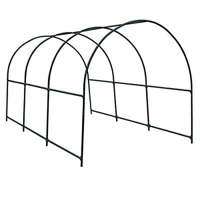 Strong Camel Greenhouse Replacement Frame for Larger Hot Garden House, Support Arch Frame Climbing Plants/Flowers/Vegetables from Strong Camel