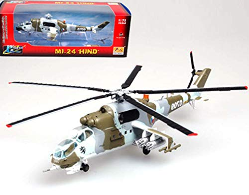 Easy Model Czech Republic air Force Mi-24 N 0709 1/72 Non diecast ()