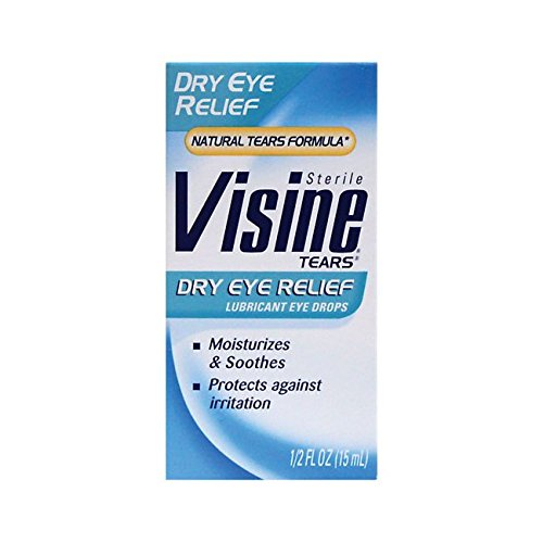 Visine Dry Eye Relief Eye Drops 0.50 oz
