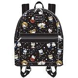 8984e56443f0 Amazon.com  Loungefly Hello Kitty Angry Face Multi Case (Grey Black ...