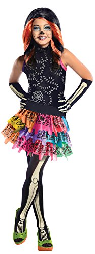 Skelita Calaveras Child Costume - Medium (Monster High Dia De Los Muertos)