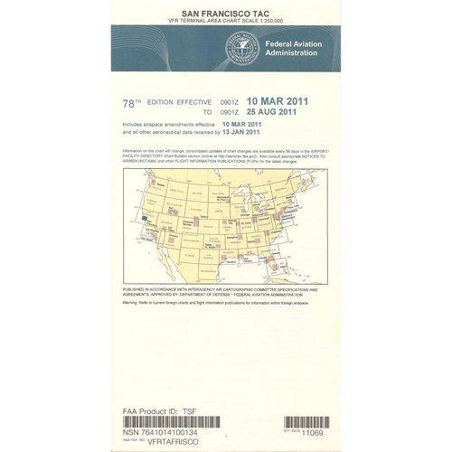 FAA Chart: VFR TAC SAN FRANCISCO TSF (Current - Terminal Area Chart