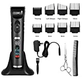 Ceenwes Hair Clippers Heavy Duty Rechargeable Hair Trimmer Cordless Clippers Hair Cutting Kit