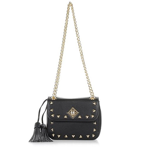 BORSA SMALL CROSSBODY W FLAP BLUGIRL BLACK 002