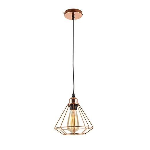 Lámpara Colgante Moderna Geométrica Industrial Lámpara De ...