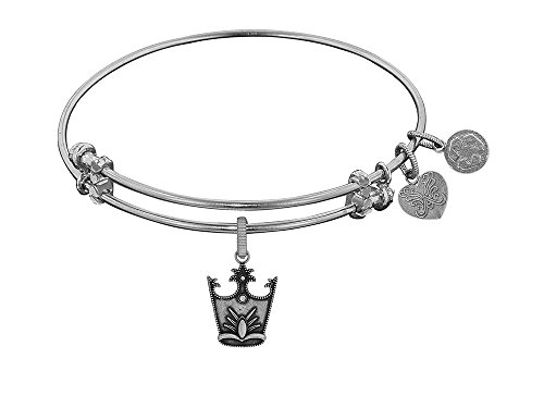 Angelica Collection Glinda Crown Expandable Bangle Brass (Glinda Crown)