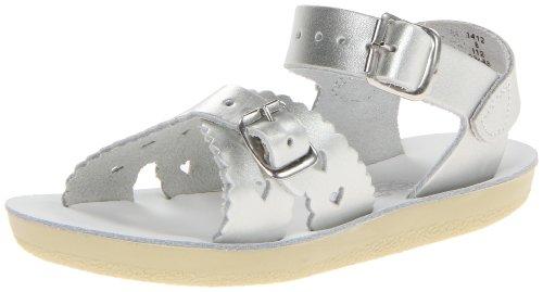 - Salt Water Sandals by Hoy Shoe Sweetheart Dress Sandal (Toddler/Big Kid),Shiny Silver,5 M US Toddler