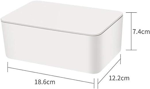 Caja de papel de seda h/úmeda para el cuidado de las toallitas de beb/é soporte de pa/ñuelos regulares AIKENR caja de almacenamiento de servilletas accesorios dispensador de toallitas para el hogar