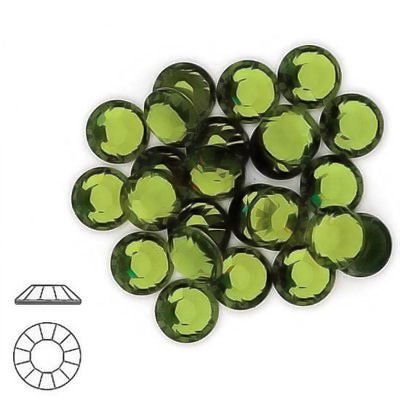 OLIVINE HOTFIX 144 SWAROVSKI Rhinestones Crystals (Olivine Rhinestone)