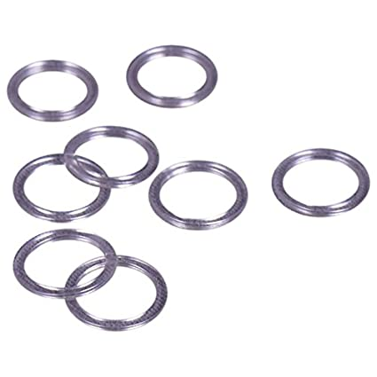 Porcelynne Clear Plastic Bra//Headband Replacement Strap Rings 10 Pairs 3//8 or 10mm Opening