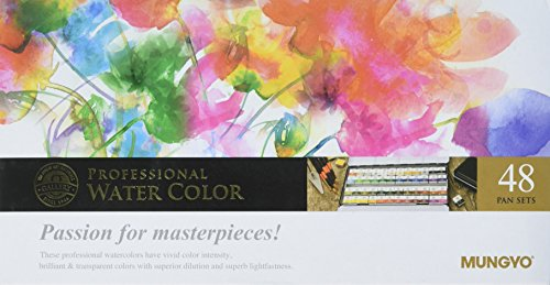 Sargent Art 32-6048 Artist Quality 48ct Professional Watercolor Set, Tin Case by Sargent Art