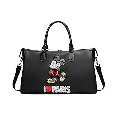 b9b6c1b9d91a ... Multifunction Oxford Cloth Large Capacity Gym Bag Sports Holdall Travel  Weekender Duffel Bag(  Mickey Mouse Bag Waterproof Oxford Bag Canvas Bag PU  ...