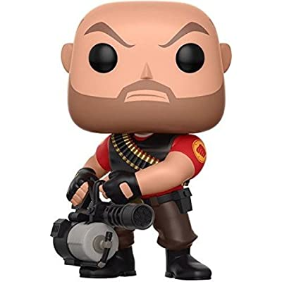 Funko Pop Games: Team Fortress 2 - Heavy Collectible Vinyl Figure: Funko Pop! Games:: Toys & Games