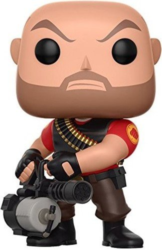 Funko Pop Games: Team Fortress 2 - Heavy Collectible Vinyl Figure ()